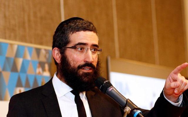 Rabbi Yaakov Glasman. Photo: Peter Haskin