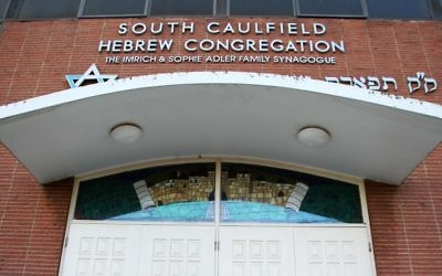 South Caulfield Hebrew Congregation.