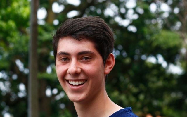 Mount Scopus College student Jordan Berman received a perfect ATAR of 99.95.