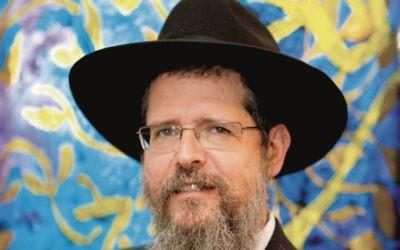 Rabbi Shimshon Yurkowicz.