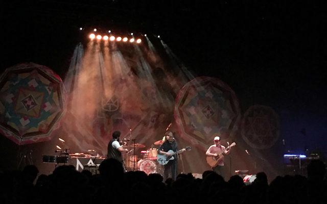 Tinpan Orange performs in Hamburg, Germany during last year's European tour.