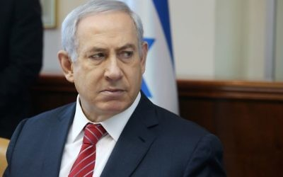 Benjamin Netanyahu. Photo: Marc Israel Sellem/JTA