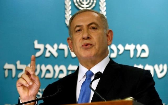 Benjamin Netanyahu. Photo: REUTERS.