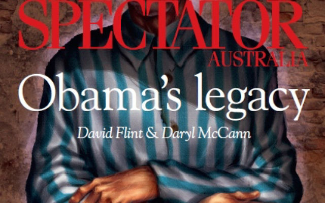 The front cover of The Spectator Australia's January 7, 2017 edition.