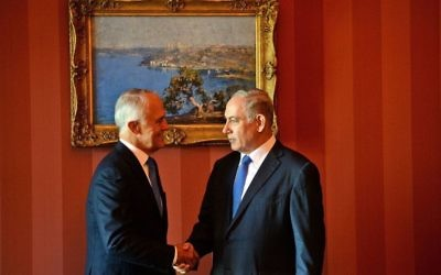 Malcolm Turnbull (left) and Benjamin Netanyahu.