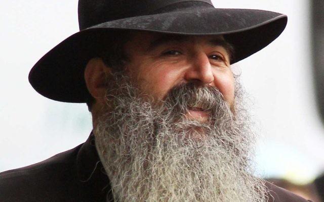 Rabbi Chaim Tzvi Groner.