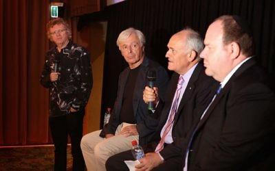 From left: Rowan Dean, Robert Magid, Peter Wertheim and Yair Miller. Photo: James Alcock