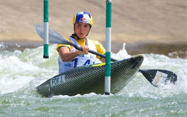 Maccabi NSW Jewish Sportswoman of the Year recipient Jessica Fox. Photo: sportscene