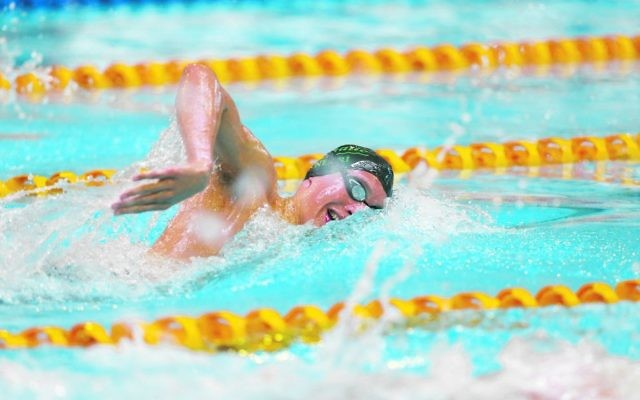 Victoria's Benno Negri came fifth in the final of the 17-18 Boys 50m freestyle at the 2017 National Age Swimming Championships.