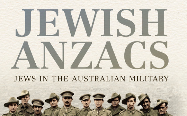 The cover of Jewish Anzacs, by author Mark Dapin.