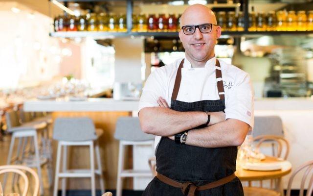 Israeli chef Roy Ner.