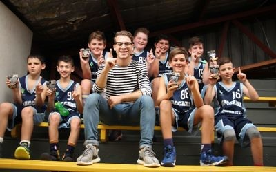 The Maccabi United under-12 boys basketball team won the City of Sydney competition.