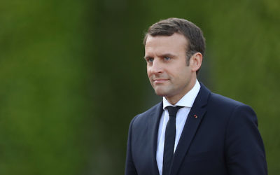 French President Emmanuel Macron. Photo by Sean Gallup/Getty Images