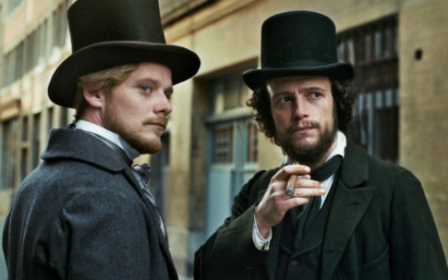 August Diehl (left) in Raoul Peck's 'The Young Karl Marx'.