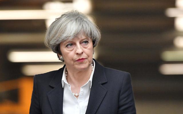 British Prime Minister Theresa May. Photo: Ben Stansall