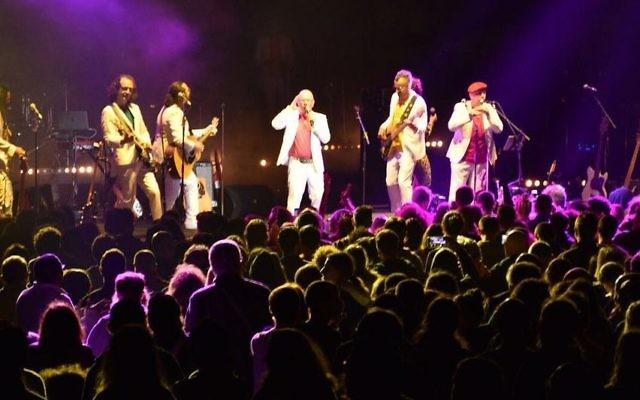 Israeli band Teapacks performs at this year's Israel Festival.