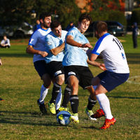 4-6-17. North Caulfield Maccabi Football Club. NCMFC def  Peninsula Strikers 4-1. Photo: Peter Haskin