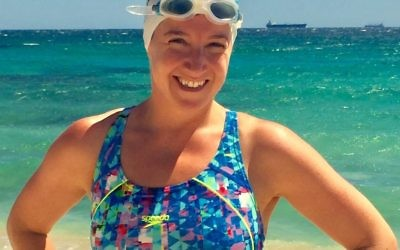 Rachelle Silver will swim the English Channel in August to raise money for PANDA.