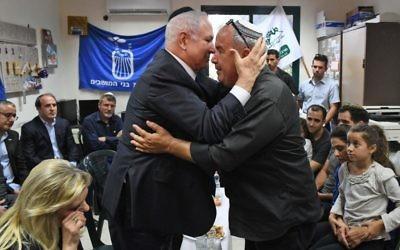 Benjamin and Sara Netanyahu visiting the home of Hadas Malka. Photo: Kobi Gideon/GPO