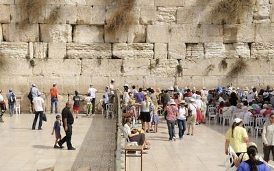 The Western Wall is still divided in mens' and womens' sections.