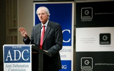 Dennis Ross speaking at the Gandel Oration.