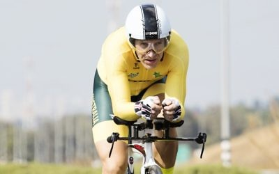 Australian Cyclist Alex Lehrer.
