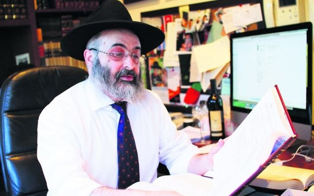 Rabbi Meir Shlomo Kluwgant.