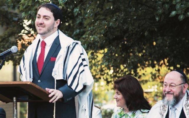 Rabbi Alon Meltzer.