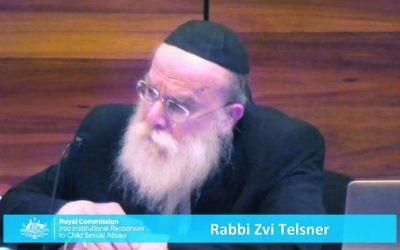 Rabbi Zvi Hirsch Tenser.