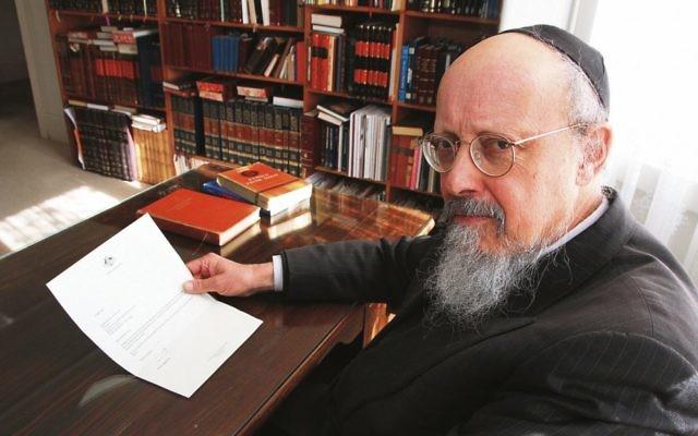 Rabbi Shimon Cowen. Photo Peter Haskin