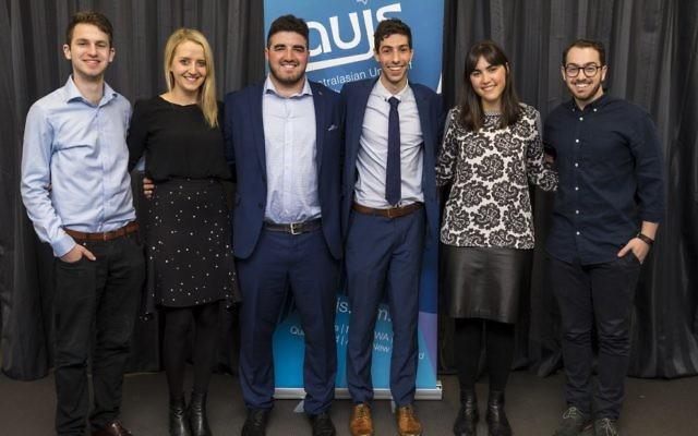 From left: Daniel Kahan, Sophia Kwiet, Gareth Milner, Saul Burston, Noa Bloch, Michael Garbuz.