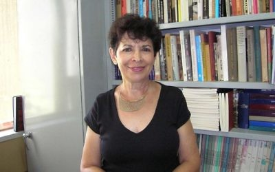 Professor Dina Porat is visiting Australia.