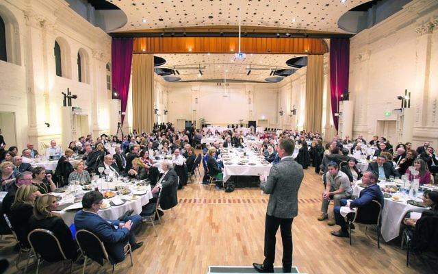 Elwood Shule's gala dinner. Photo: Sav Schulman