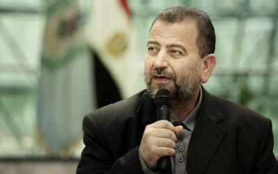 Saleh al-Arouri. Photo: AP Photo/Nariman El-Mofty