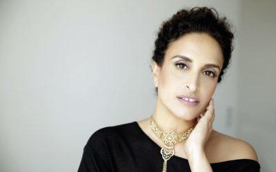Israeli singer Achinoam Nini, known popularly as Noa.