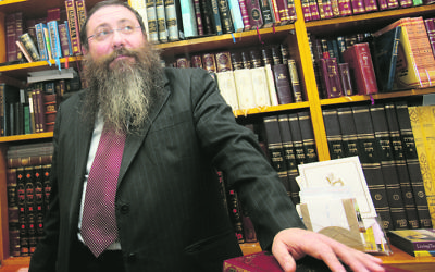 Rabbi Moshe Gutnick of the Sydney Beth DIn. Photo: Ingrid Shakenovsky