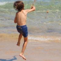 Bob Mendelsohn entered this photo of his grandson Booker at Bondi Beach.