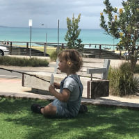 Daniel Rabin entered this photo of his child Eli in Lorne.