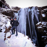 Dovi Broner entered this photo taken at Gljúfrabúiwaterfall, Iceland.