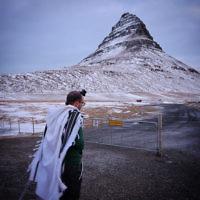 Dovi Broner  entered this photo of shacharit atKirkjufell, Iceland.