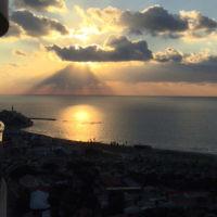 Jenny Kornblum entered this sunset photo taken in Tel Aviv.