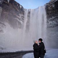 Lori Gross entered this photo taken at the Skogafoss Waterfall, Iceland.