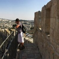 Micky Perlman entered this photo of Simonne Abadee in Jerusalem.
