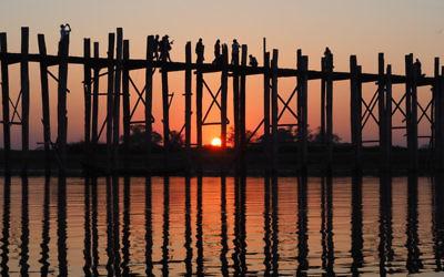 Marion Doobov entered this sunset photo taken in Myanmar.