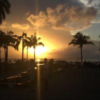 Michal Rosenbaum entered this sunset photo taken in Cozumel, Mexico.