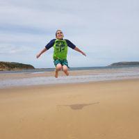 Miriam Abenaim entered this holiday photo taken at San Remo beach, Phillip Island.