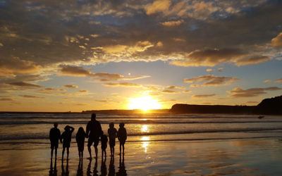 Miriam Abenaim entered this photo of sunset at Smith's Beach, Phillip Island.