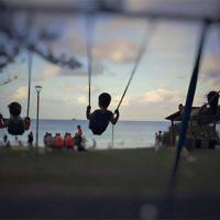 Natalie Adler entered this photo of her children at Byron Bay Main Beach.