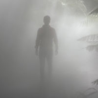 Peter Shonberg entered this holiday photo of son Jeremy taken on a misty Canberra morning.
