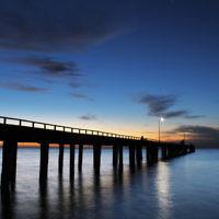 Sharon Flitman entered this sunset photo taken at Seaford beach, Victoria.